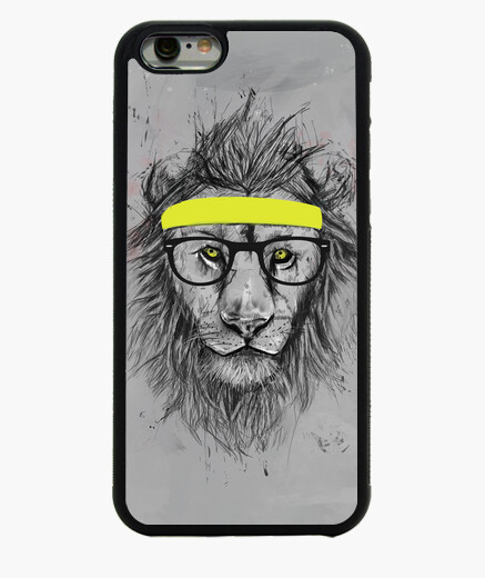 Funda iPhone 6 / 6S Hipster lion cuadro