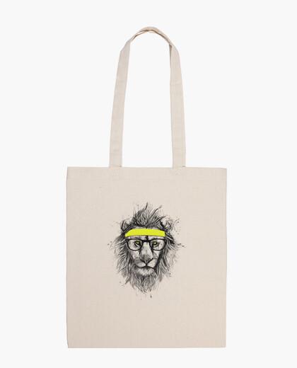 Tasche hipster löwe