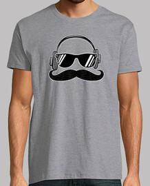 hipster music mustache men