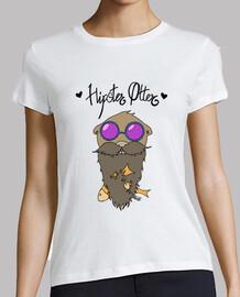 Hipster Otter con letra