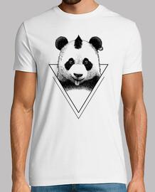 hipster punk panda