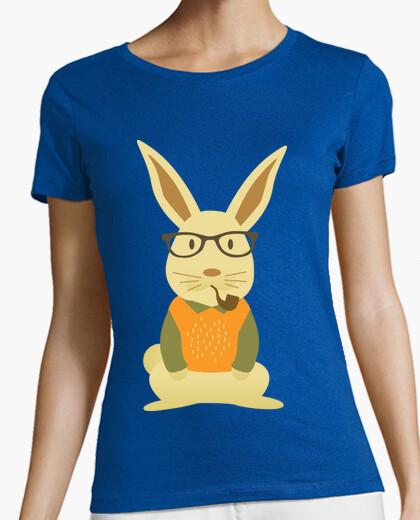 Camiseta Hipster rabbit