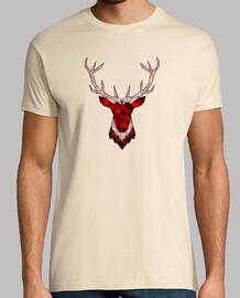 hipster red deer