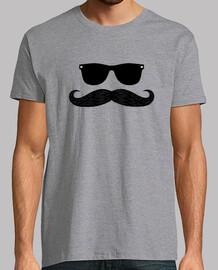 hipster schnurrbart