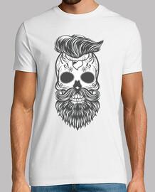 Hipster sugar skull 2