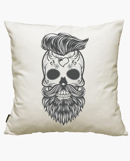 Funda cojín Hipster sugar skull 2