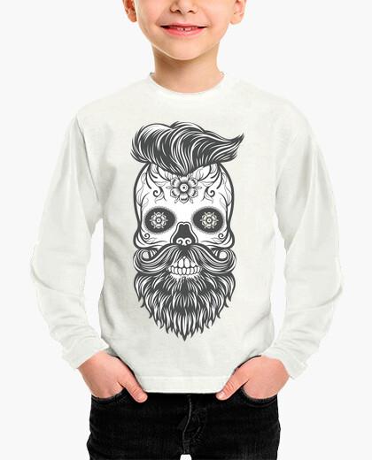 Ropa infantil Hipster sugar skull 4