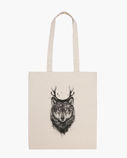 Tasche hirsch wolf