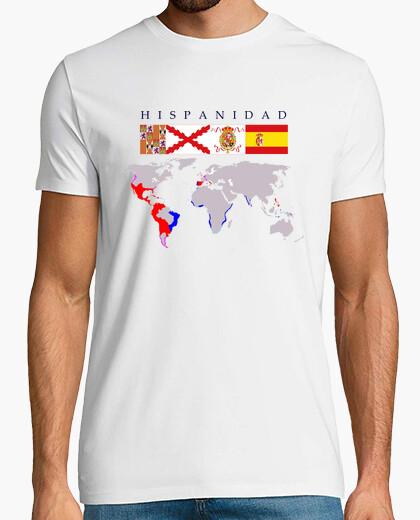 Camiseta Hispanidad origen con mapa