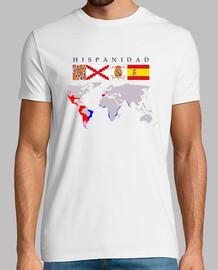 Hispanidad origen con mapa