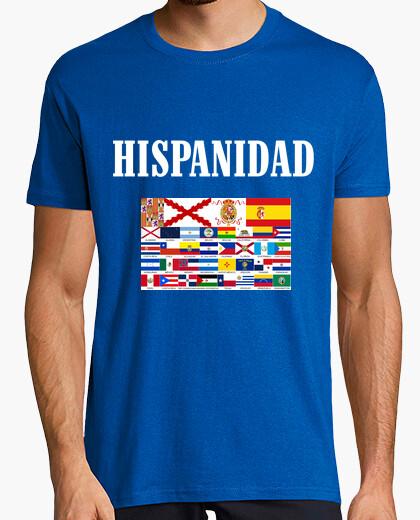 Camiseta Hispanidad paises y origen