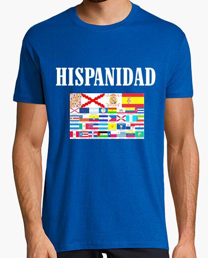 Camiseta Hispanidad paises y origen Dibujo