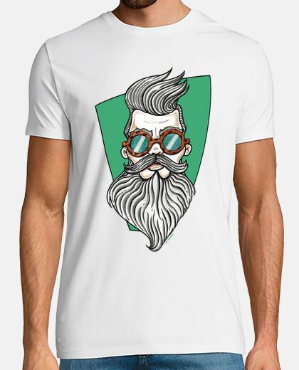 hispter- uomo con la barba