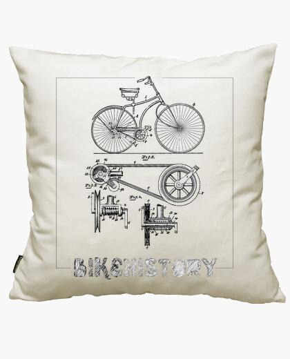 Housse de coussin histoire de vélo