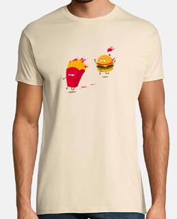 historia de comida rápida