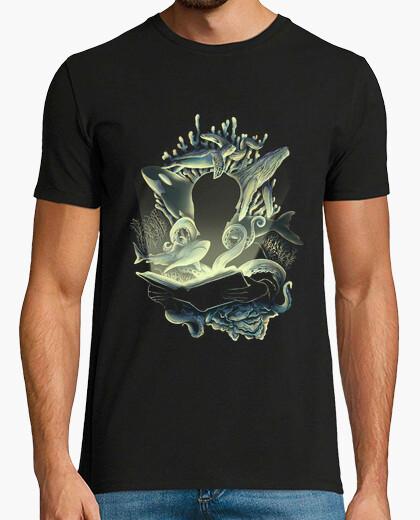 Camiseta historias bajo el agua