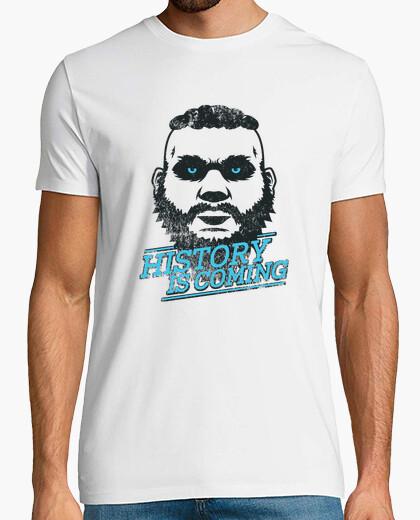 History is coming (dark theme) t-shirt