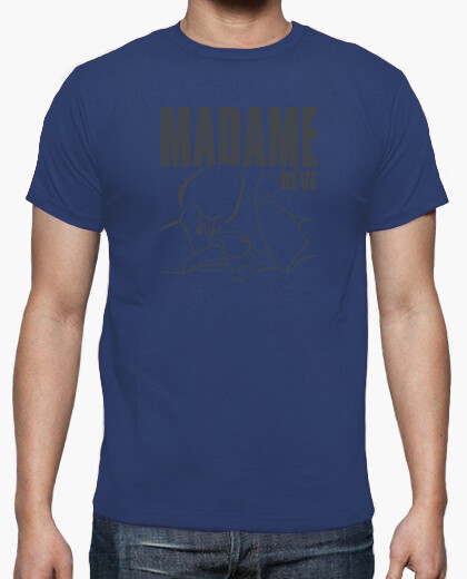 Hn / madam dream 1 gray by stef t-shirt