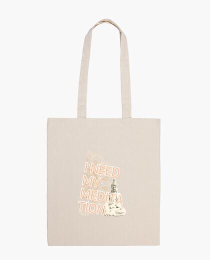 Ho bisogno della mia borsa da meditazione...