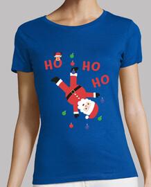 HO HO HO Santa Claus camiseta Navidad