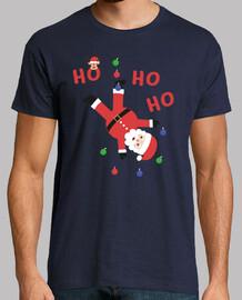 ho ho ho t-shirt de noel santa claus