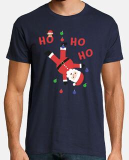 ho ho ho t-shirt natale santa natale