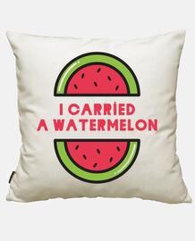 Ho pertato un water melone