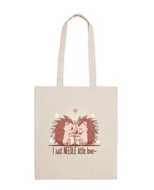 ho solo ago piccolo amore - riccio - tote bag