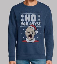 Ho You Guys! - Ugly Christmas Sweater