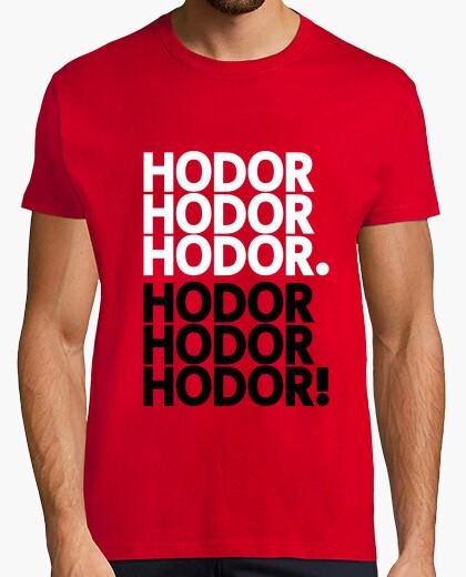Camiseta Hodor - Get over it!