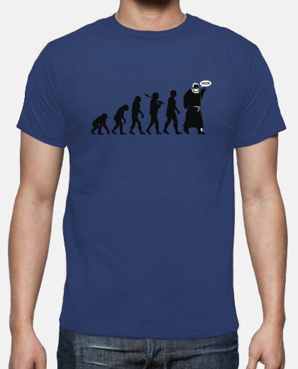 hodor evolution - man t-shirt
