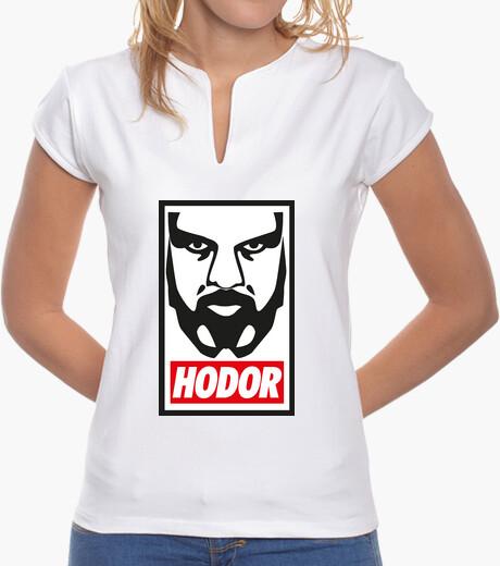 Camiseta Hodor Obey Blanco