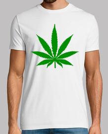 hoja de marihuana