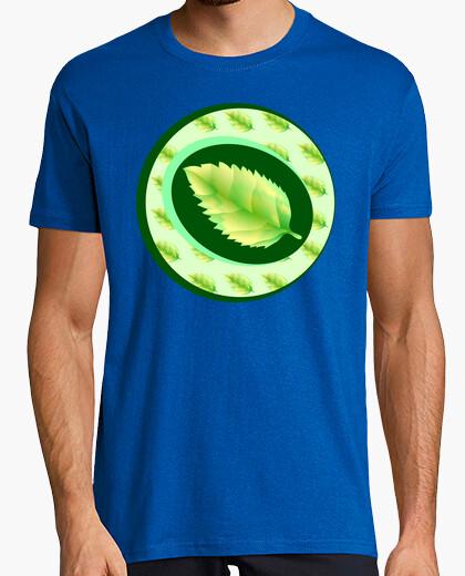 Camiseta Hoja verde del árbol.