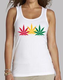 hojas de marihuana de reggae