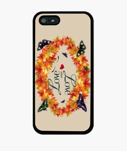 Funda iPhone hojas love me love