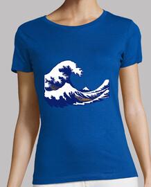 hokusai print fuji wave wave
