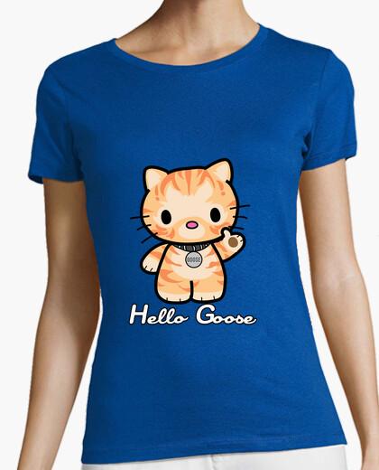 Camiseta hola ganso