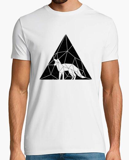Camiseta hombre - zorro triangulo