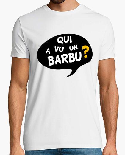 Camiseta hombre barbudo pregunta regalo humor
