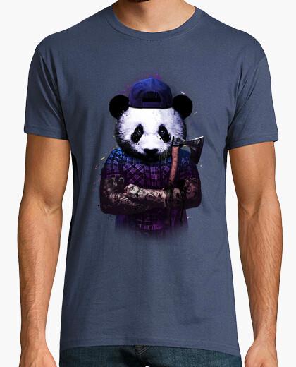 Camiseta hombre bucheron panda