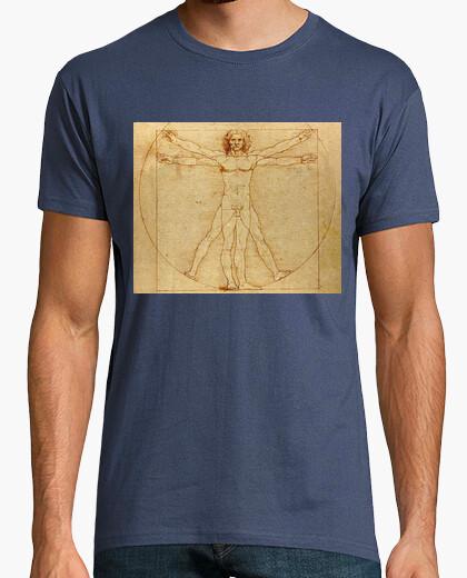 Camiseta Hombre de Vitruvio