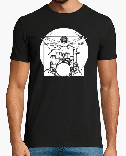 Camiseta Hombre de Vitruvio Batería