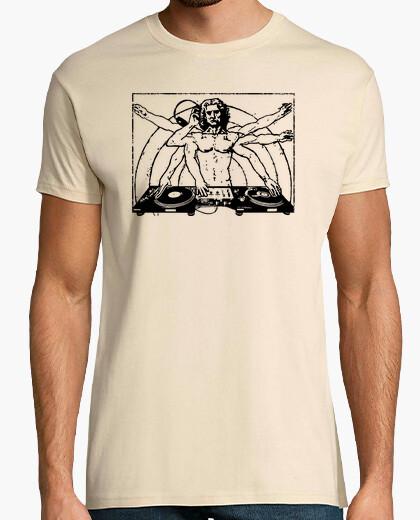 Camiseta Hombre de Vitruvio DJ