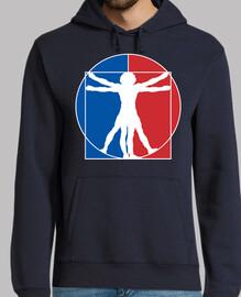 Hombre de Vitruvio (Logo NBA)