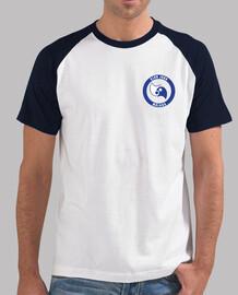 Hombre, estilo béisbol, blanca y azul marino club judo malaga