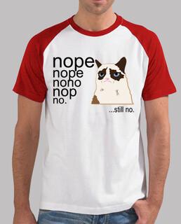 HOMBRE GRUMPY CAT SAYS NO