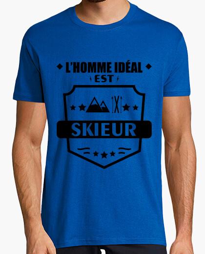 Camiseta hombre ideal esquiador esquí