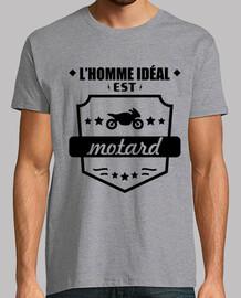 hombre ideal motociclista