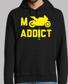 Hombre, jersey con capucha, negro, enduro, moto, mx, motocros, bike, ktm, honda, yamaha, gas gas, ka